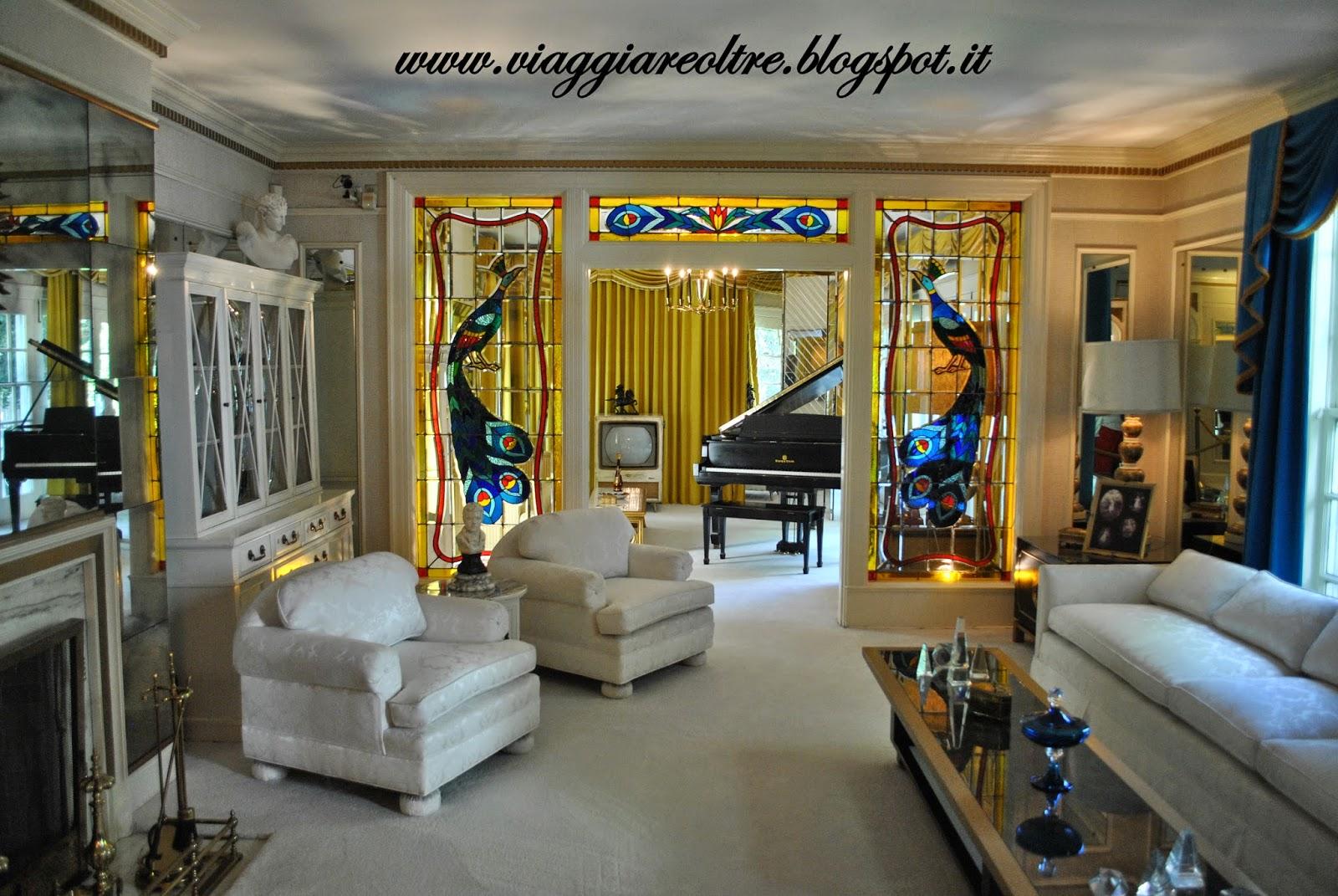 Visitare graceland la casa di elvis presley a memphis - Immagini della casa ...