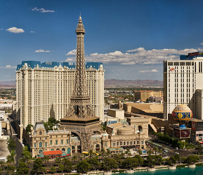 vista do Bellagio, Las Vegas (EUA)