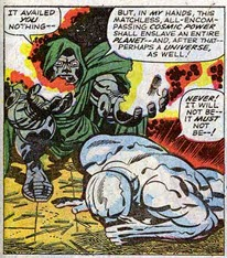 Fantastic Four 59 Lee Kirby Doom Surfer