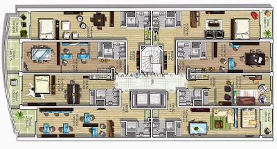 Planos Edificio Infinity 21