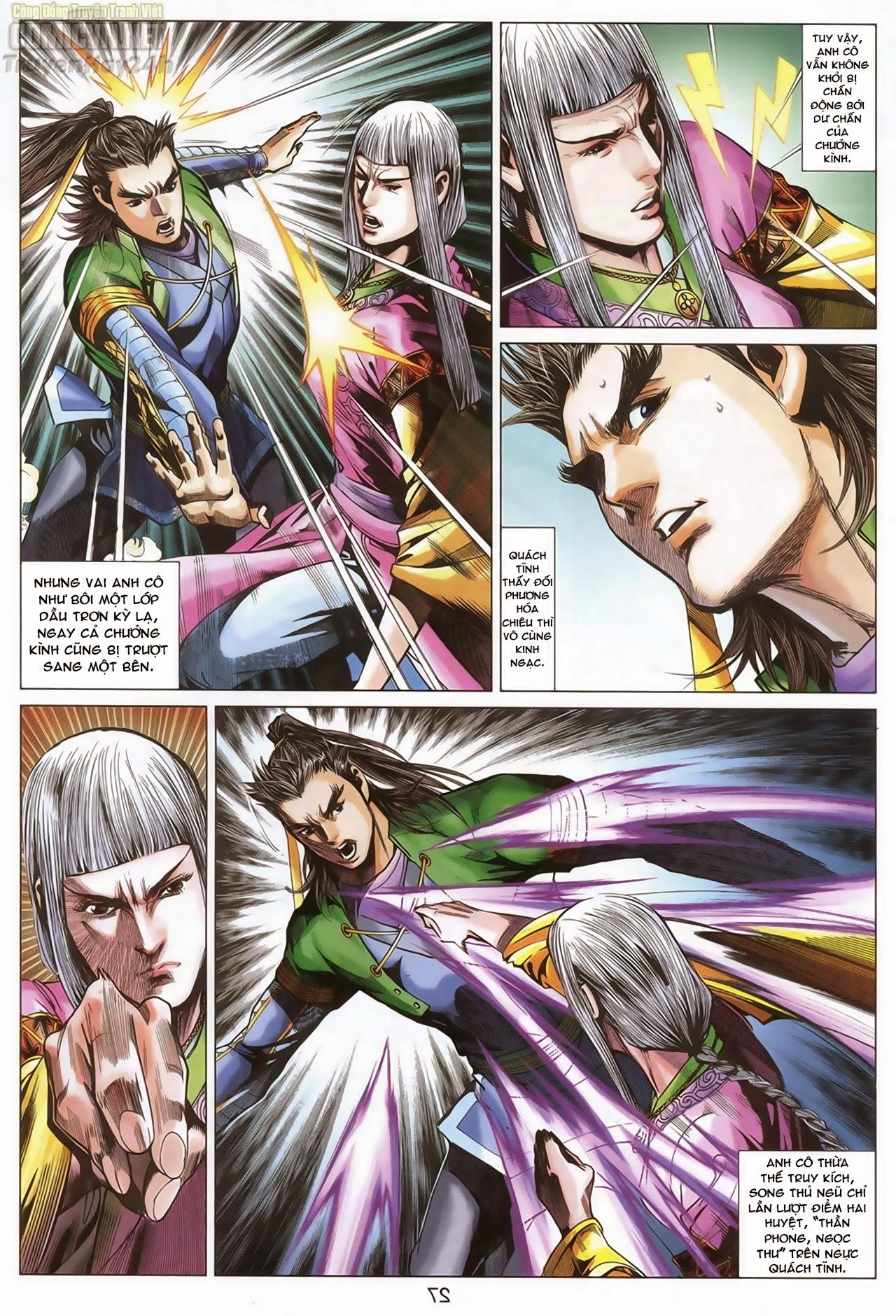 Anh Hùng Xạ Điêu anh hùng xạ đêu chap 70: hắc chiểu ẩn nữ trang 28