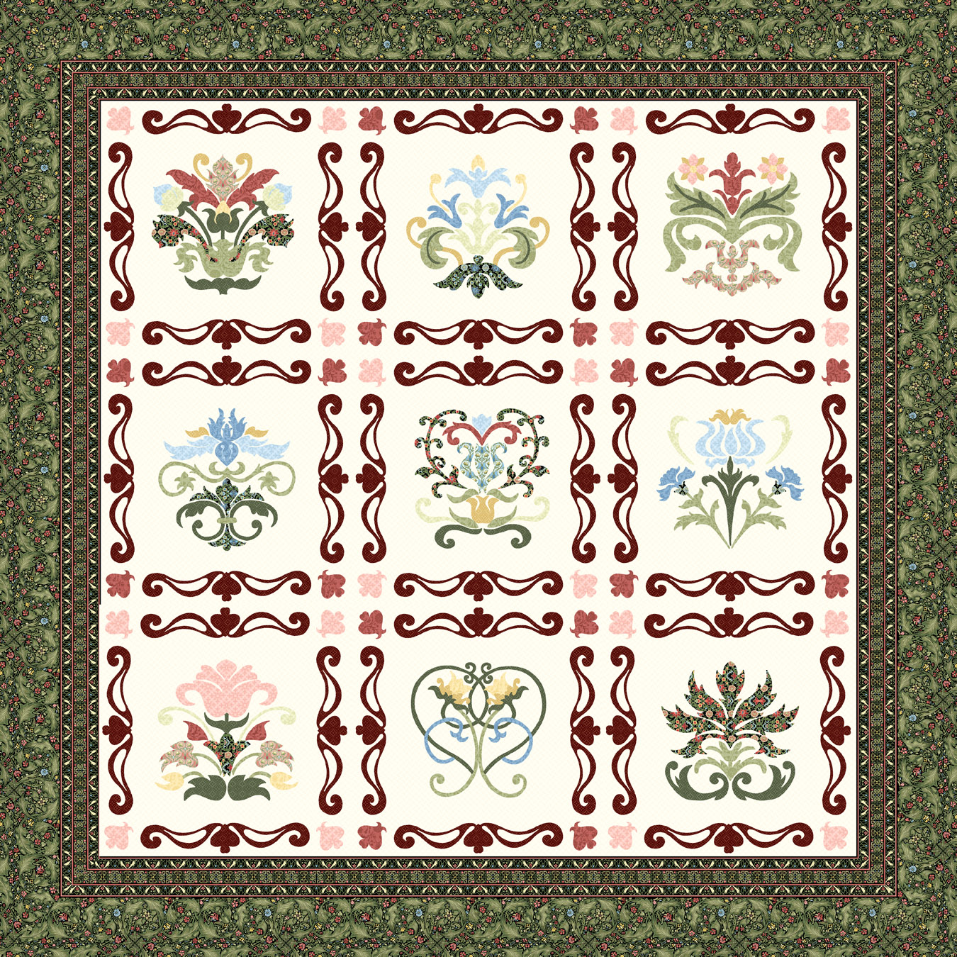 1000 Images About Quilts Traditional Applique On