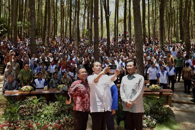 Presiden Jokowi Tegaskan Pentingnya Hutan untuk Kemakmuran Rakyat