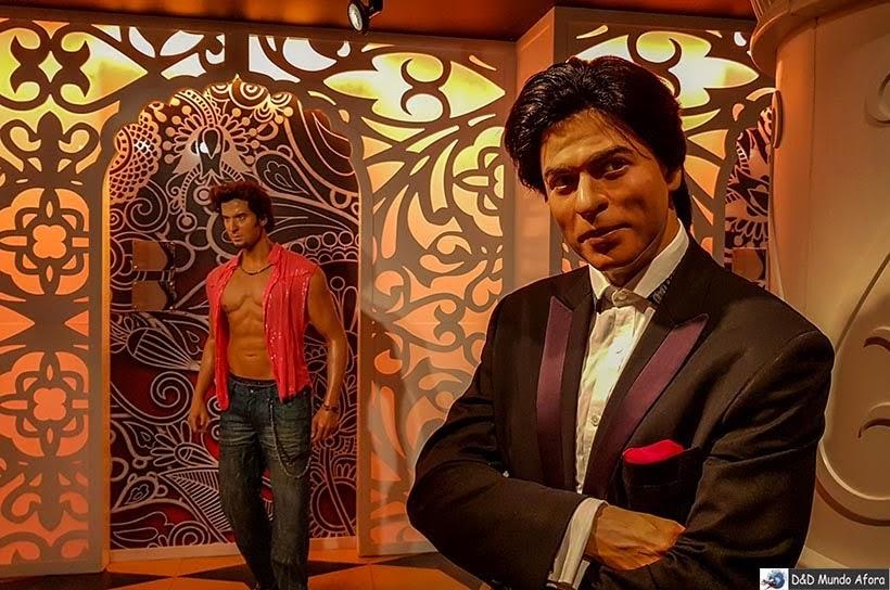 Atores de Bollywood no Madame Tussauds: Como visitar o museu de cera de Londres