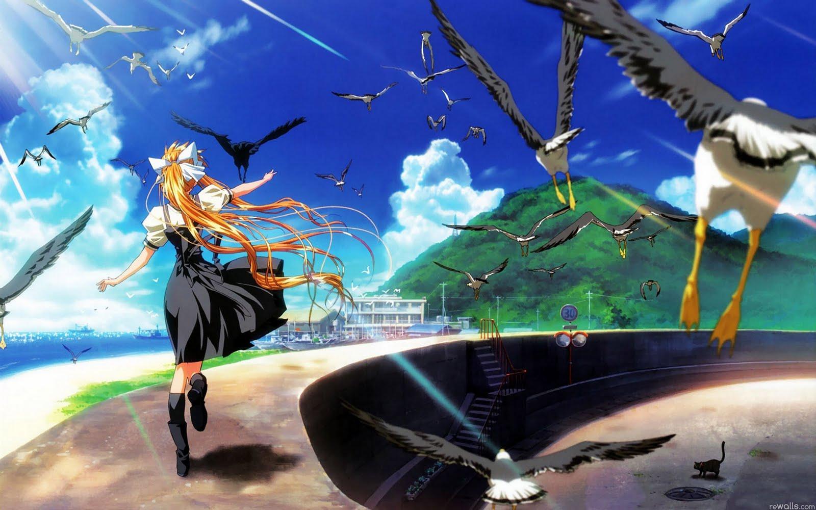 running anime wallpaper - photo #27