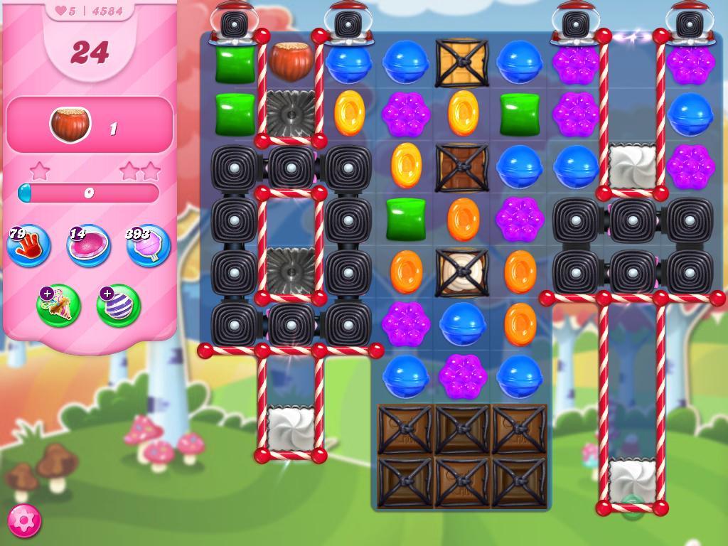 Candy Crush Saga level 4584