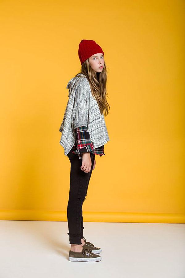 moda en abrigos para niñas invierno 2017