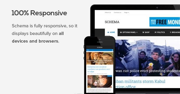 Schema Seo Friendly Wordpress Theme Purchased Download