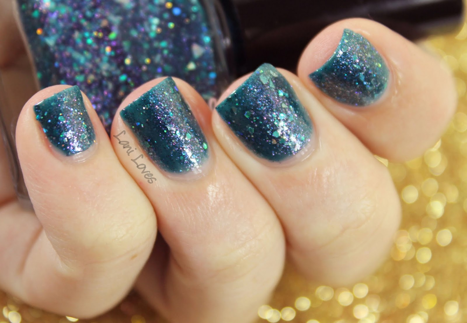 Femme Fatale Cosmetics All Sanity is Lost nail polish swatches & review