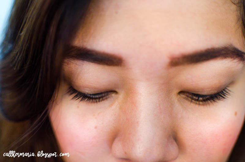 Mistine Super Model Miracle Lash Before
