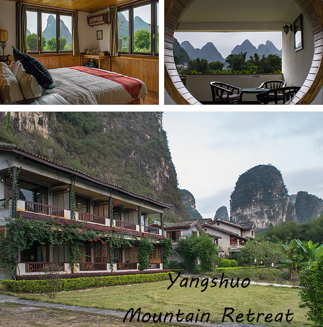 Collage photos du Yangshuo Mountain Retreat