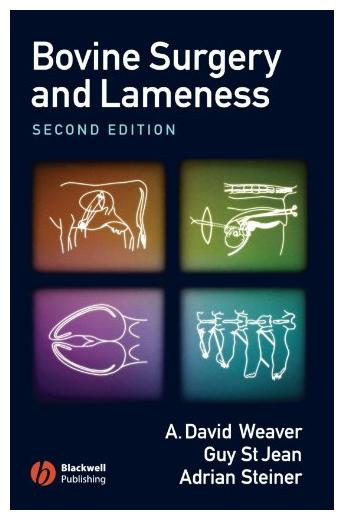 Bovine Surgery and Lameness 2nd Ed - WWW.VETBOOKSTORE.COM