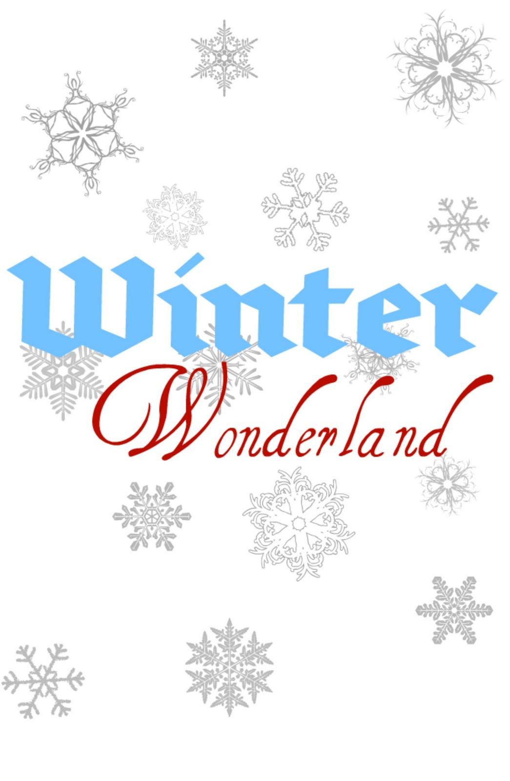 Winter Wonderland Printable