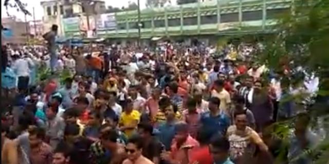 BHIND मेें भारत बंद से पहले SC/ST ACT विरोधियों का सैलाब सड़कों पर | MP NEWS