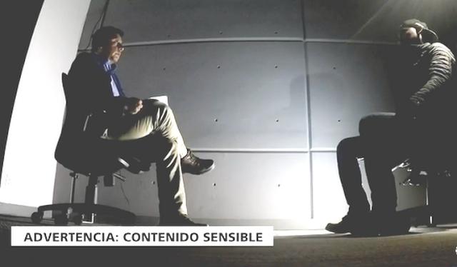 """VIDEO; Entrevista a un sicario """"maton"""" y dice en la maquinaria del crimen """"nos hacían comer carne humana"""""""