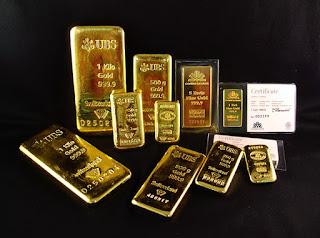 大可財經週報: 黃金條塊簡介