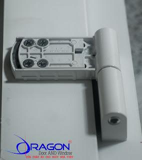 Bản lề 3D_120Kg cửa nhựa lõi thép