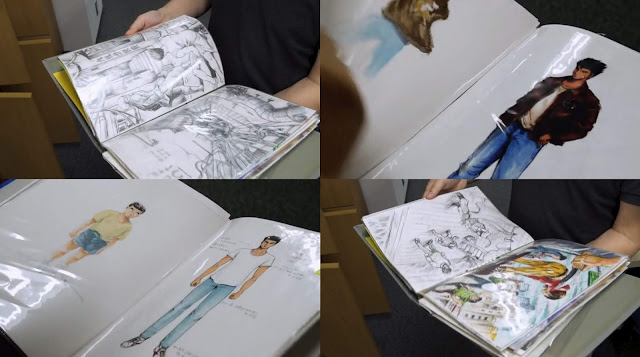 Kickstarter trailer: Shenmue concept art displayed by Yu Suzuki. The documentary will have access to such official Shenmue archives.