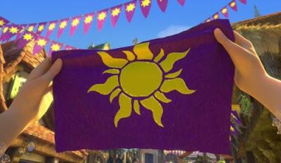 Pour La Victoire Tangled Sun Banner Diy