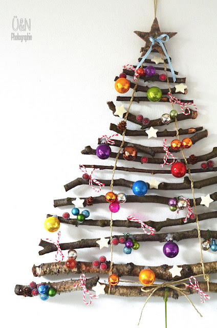 Excellence Matters Christmas Crafts for Children Stick Christmas Tree