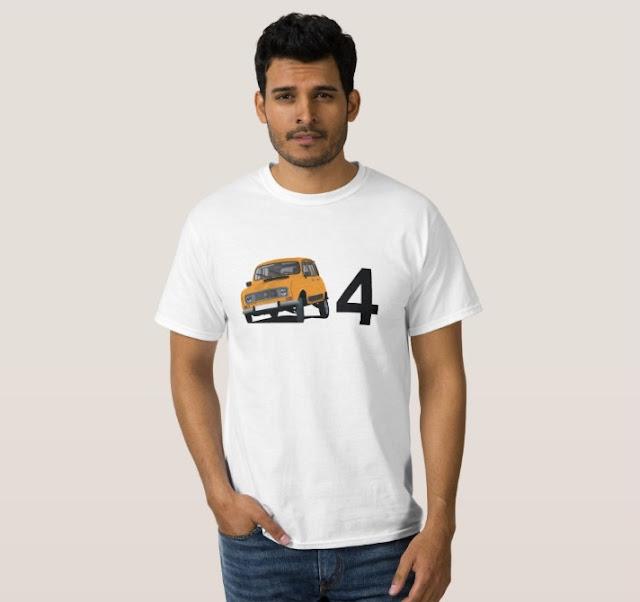 Renault 4 t-paitat