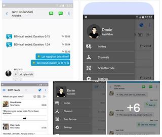 Kumpulan BBM MOD Ios Apk v3.2.5.12 Unclone Terbaru Full Fitur 2017