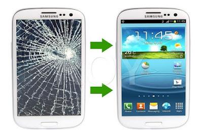 Dịch vụ thay mặt kính Samsung galaxy S3 giá rẻ lấy ngay tại Hà Nội