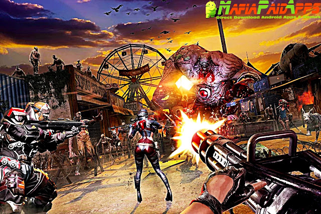 DEAD WARFARE: Zombie Apk + Mod (Damage/Equipments) + Data