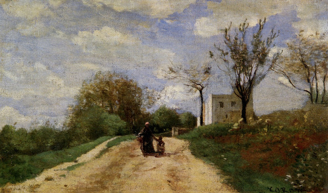 http://www.wikiart.org/en/camille-corot/the-path-leading-to-the-house-1854