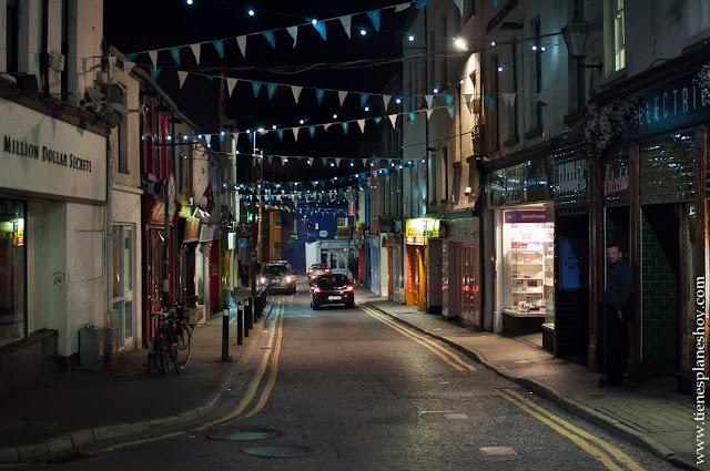 Calle de Galway Irlanda