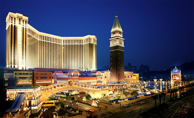 Macau (Known as 'Las Vegas of Asia')