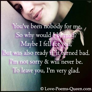 broke up relationship poems and quotes