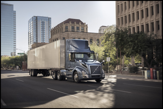 "The new Volvo VNL 300 tractor is now available for the U.S. and Canada with a natural gas-powered Cummins ISX12N ""Near Zero"" engine"