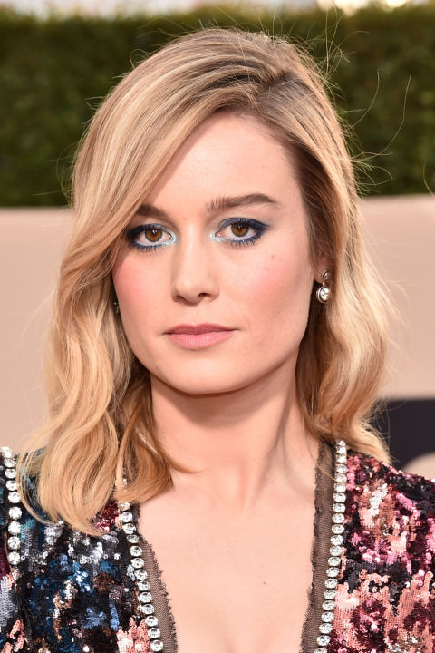 If you don't love yellower blondes but aren't interested in something as cool as platinum, soft shades of beige, like Brie Larson's, keep your blonde warm without looking too lemony.