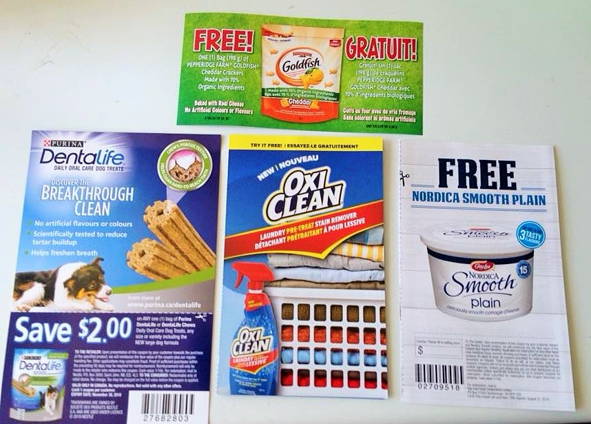 free product coupons by mail