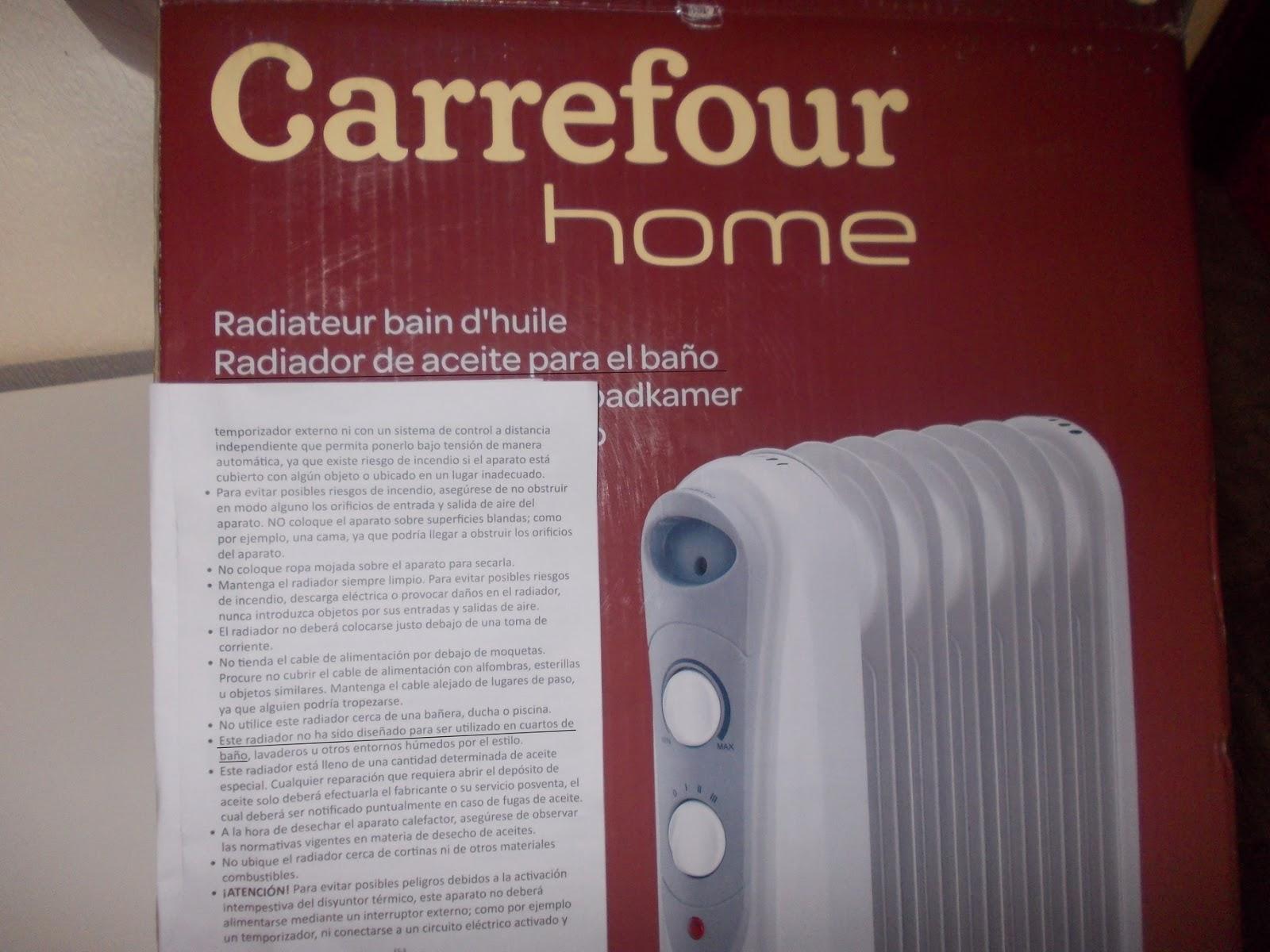 Carrefour Bano.Harto De Carrefour Radiador De Aceite Para El Bano Que No