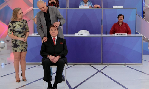 Silvio Santos é hipnotizado no seu próprio programa