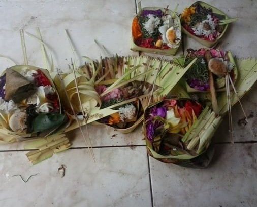The Balinese Hindus volition celebrate the ceremony flavour consecutively BeachesinBali: Sugihan Ceremony - Influenza A virus subtype H5N1 Symbol of Purification
