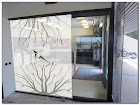 Frosted GLASS WINDOW Film Designs