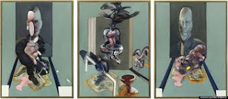 """Triptych, 1976"", Francis Bacon"