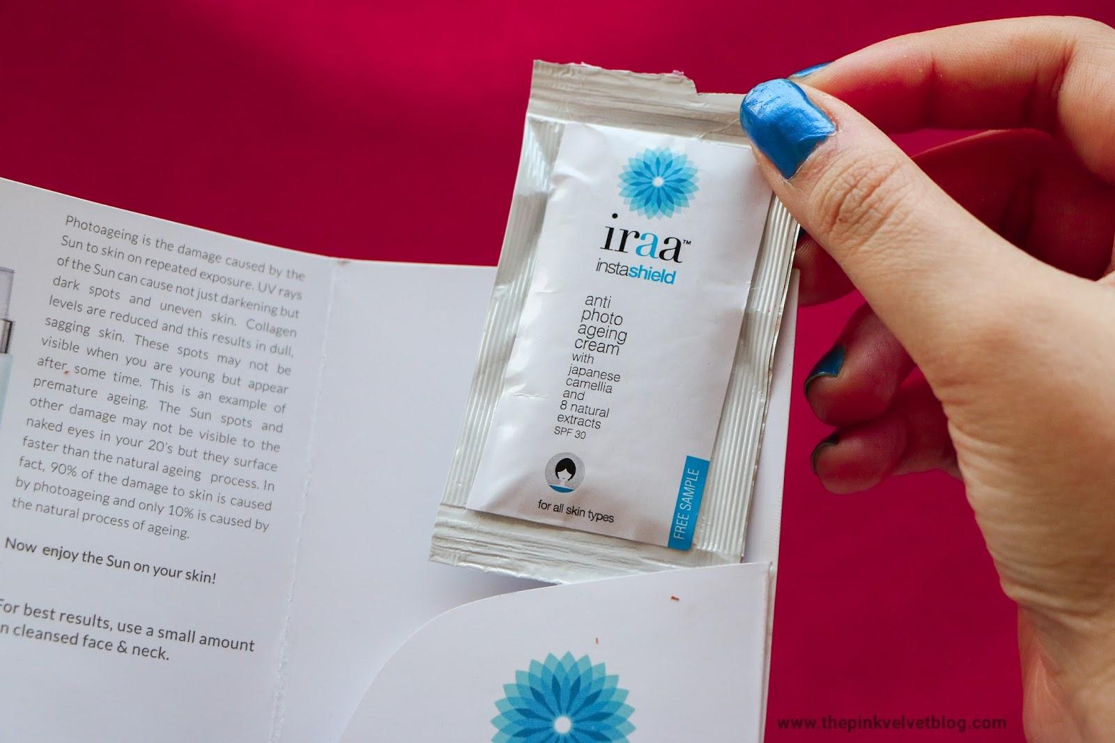 Iraa Anti-Photoaging Cream - My Envy Box - July