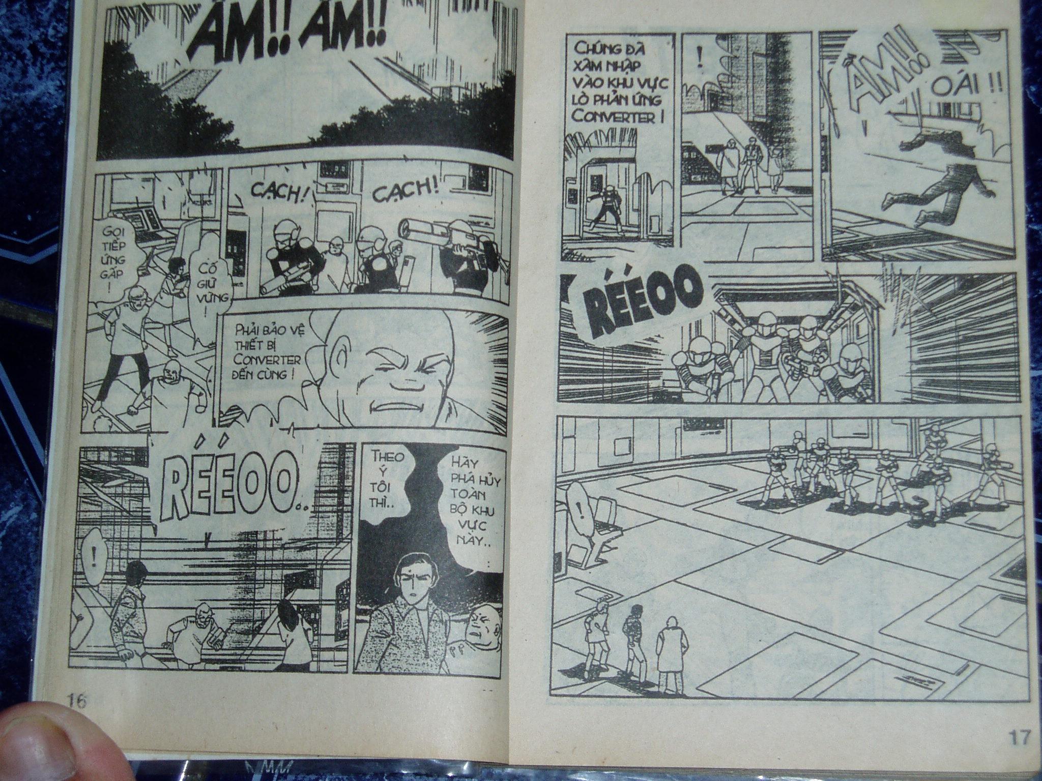 Siêu nhân Locke vol 14 trang 8