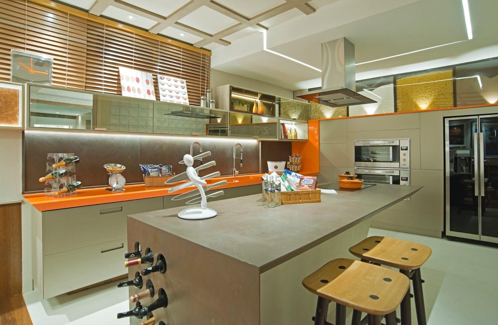Construindo Minha Casa Clean 30 Cozinhas Com Ilha De Coc O