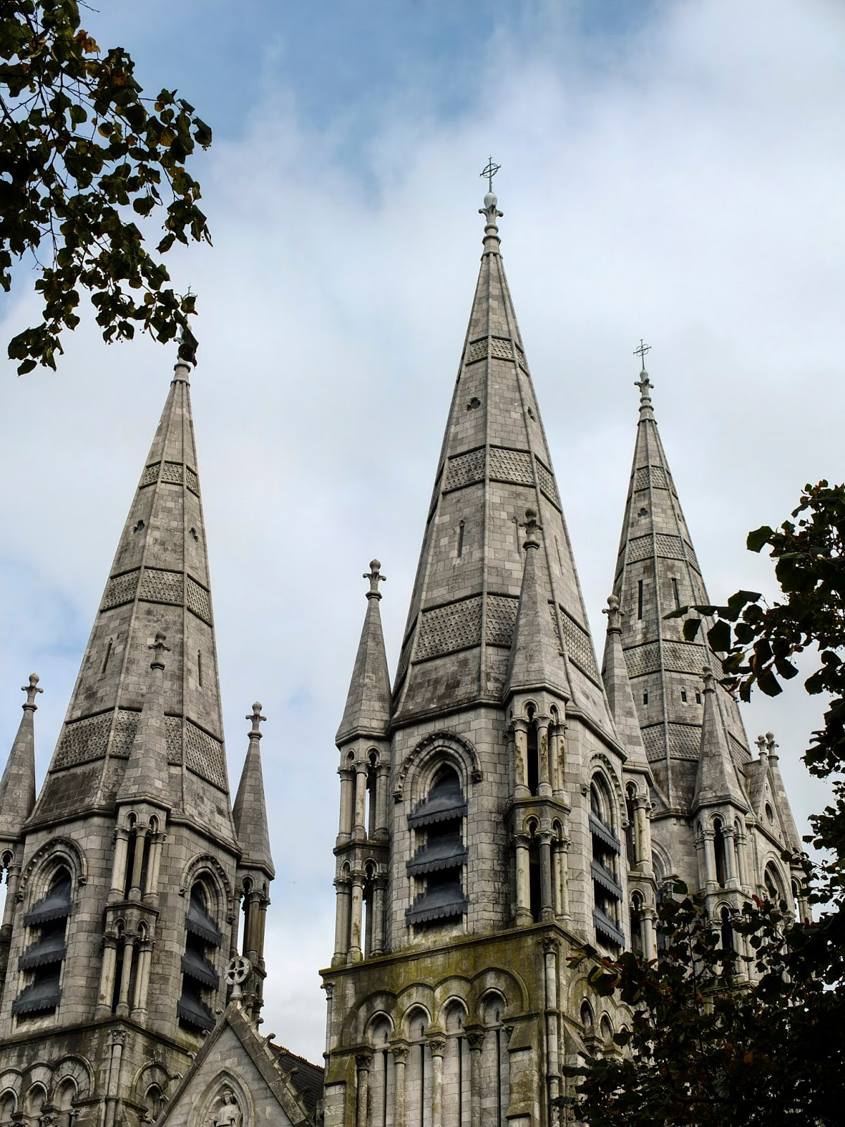 Towers of the Saint Fin Barre's Cathedral, Cork City.