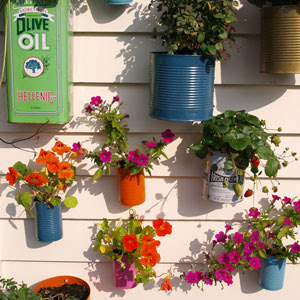 canplanter main - DIY Tin Can Planters