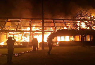 Hotel Oberoi Terbakar, Sempat Ada Suara Ledakan Dari Dalam Kamar