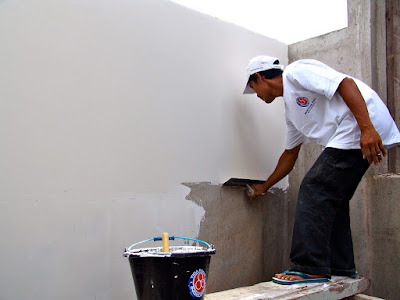Ingin Plamir Tembok Rumah Anda Halus Dan Licin Seperti Kaca ! Begini caranya ! 1