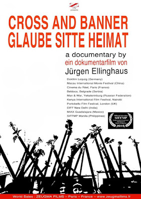 """Glaube Sitte Heimat (Cross and Banner),"" directed by Jürgen Ellinghaus"