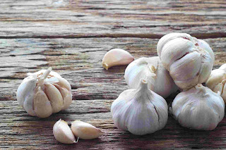 garlic has a lot of abundant substance for anti-oxidant