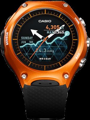 Smart Outdoor Watch WSD-F10 - CASIO New smartwatch